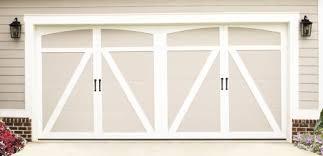 Garage Door Designs Carriage House Steel Garage Doors Model 6600