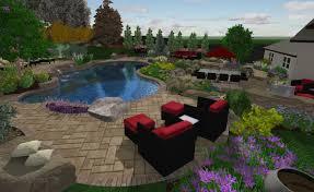 Long Island Patio by Laurel Hollow Long Island Ny Landscape Design Project Dwe Ltd