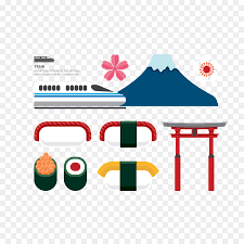 Japan Madrid Culture Element  Japanese tourism style png download
