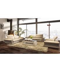 canapé 3 2 cuir salon cuir petit fontainebleau 3 2 1 places
