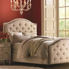 bedding winsome tufted bed frame beige with tall headboard for