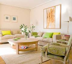 Modern Living Room Designs In Fresh Green Color Inspired By - Green and yellow color scheme living room