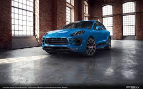 porsche voodoo blue in detail macan turbo exclusive performance edition u2013 p9xx