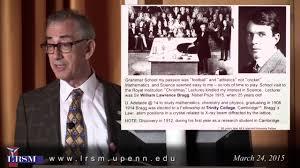 eli burstein lecture in materials science michael l klein on vimeo