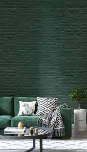 living room wallpaper inspiration go green with this emerald