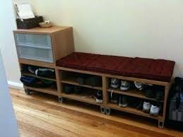 ikea bench with storage ikea shoe bench openpoll me