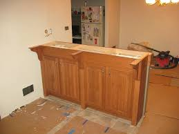 Kitchen Cabinets Construction Building A Bar With Kitchen Cabinets How To Build A Bar In Via