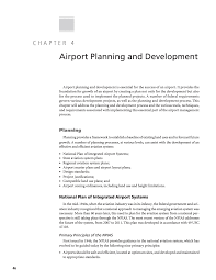 small plans chapter 4 airport planning and development guidebook for