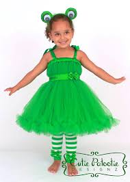Toad Halloween Costume Petti Tutu Dress Green Frog Enchanted Toad Costume