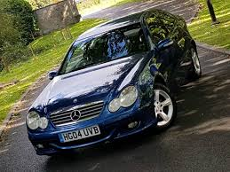 2004 mercedes benz c class c220 cdi se 1 lady owner full mb