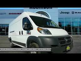 robinson chrysler dodge jeep ram 2018 ram promaster cargo torrance ca 3180247