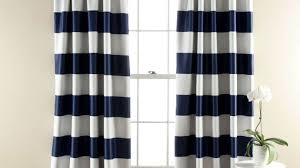 curtains navy blue striped curtains favored grey and navy blue