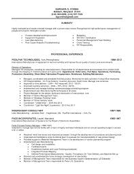 7 best photos of production line worker resume examples