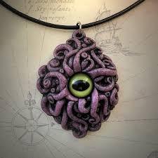 cyaegha necklace pink buy cthulhu mythos jewelry