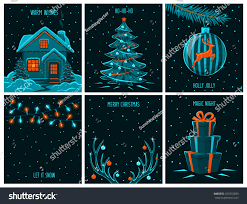 merry christmas happy new year background stock vector 525352699