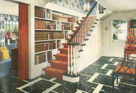 1940s home style kitchen decor 1940s foyers and stair case