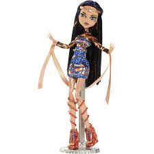Monster High Doll Halloween Costumes by Monster High Boo York Cleo De Nile And Deuce Gorgon Walmart Com