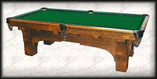 brunswick mission pool table st bernard mission