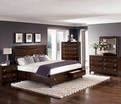 Platform Bed Designs With Storage by Bedroom Modern Bedroom Design With Dark Brown Wooden Bed Frame