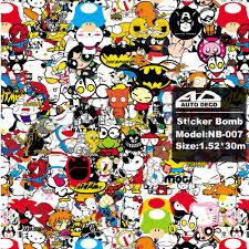 jdm sticker jdm cartoon stickers kamos sticker