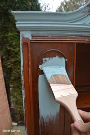 Staining Kitchen Cabinets Darker Before And After Best 25 Repurposed China Cabinet Ideas On Pinterest China