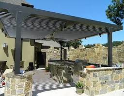 Louvered Patio Roof Adjustable Louvered Patio Covers