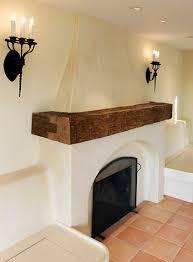 Restoring Barn Wood Reclaimed Wood Mantle Mediterranean Living Room San