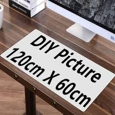 tapis de bureau personnalisé fffas 120 cm 100 cm diy personnalisé souris pad xl grand grand