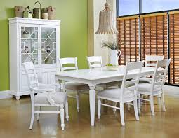 white dining room set carolina preserves by klaussner sea beachcomber white
