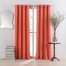 Alton Solid Grommet Window Curtain Panel Anthology Sienna Window Curtain Panel Bed Bath U0026 Beyond