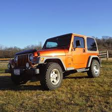 jeep wrangler orange lookin u0027 for a nice jeep 2001 jeep wrangler sport asking 12 000