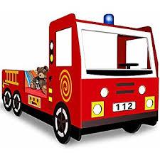 car bed fire truck engine toddler bed kids bedroom furniture