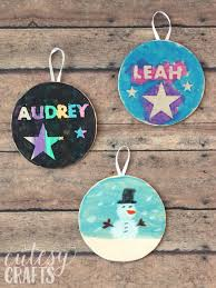 painted ornaments for cutesy crafts