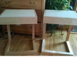 bedroom nightstand wrought iron night stand dark cherry