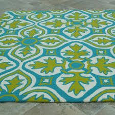Aqua Outdoor Rug Spinnaker Colorspree Rug In Aqua Geometric Pattern Outdoor Rugs