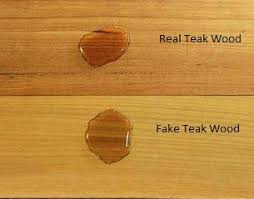 what is the best for teak furniture teak wood real vs check teak the exquisite display