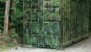 Reflective Deer Blind Shipping Container Hunting Blind Maritza Luviano Pulse Linkedin