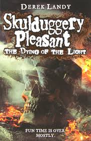 books with light in the title the dying of the light skulduggery pleasant derek landy