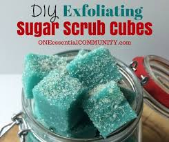 Where To Find Rock Candy Diy Exfoliating Sugar Scrub Cubes With Essential Oils One