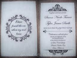 exle of wedding programs wedding invitation card cover page popular wedding invitation 2017