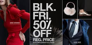 banana republic canada black friday sale on now save 50