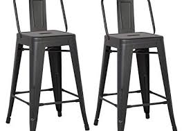 Bar Stool With Back Amazing Metal Bar Stool With Back Rest And Wood Seat Vintage On