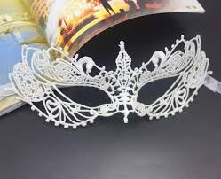 bulk masquerade masks 20pcs lot fashion princess eye mask balcak and white masquerade