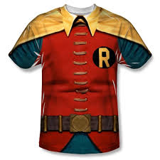 batman classic tv robin costume all over print 100 poly t