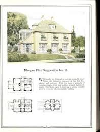 Historical House Plans 4 Square House Plan 2 Story 1920s Vintage House Plan Artistic