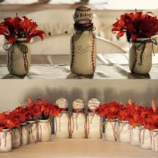 baseball wedding table decorations image result for flowers arrangements for a baseball themed