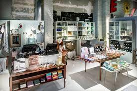 interior home store jaime beriestain concept store and café barcelona