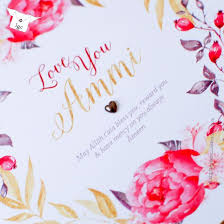 you ammi embellished card