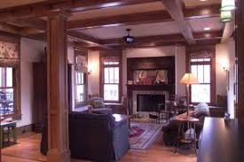 craftsman home interiors bungalow style homes interior stylish on home interior within