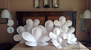 giant paper flowers from a commission for a cosmetic displ u2026 flickr